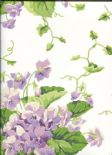 Waverly Cottage Wallpaper Sweet Violets 325729 By Rasch Textil For Brian Yates